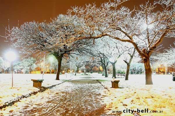 Nieve en City Bell - 2007
